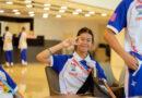 เด็กหญิงณัฐกฤตตา สุธรรม นักเรียนชั้นม. 3/5 เป็นตัวแทนนักกีฬาทีมชาติไทย