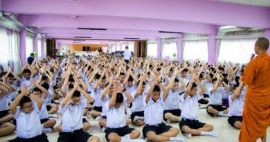 กิจกรรมค่ายคุณธรรม ระดับชั้นมัธยมศึกษาปีที่ 2 ประจำปีการศึกษา 2562