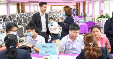 การรับมอบตัวนักเรียนระดับชั้น ม.1 EP และ ม.4 EP/IEP ปีการศึกษา 2563