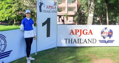 การแข่งขันกีฬากอล์ฟ รายการ APJGA THAILAND 2020 สนามที่ 2