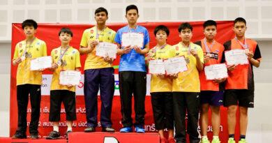 การแข่งขันกีฬาแบดมินตัน รายการ TOYOTA Youth Super Series 2020 ชิงแชมป์ประเทศไทย