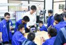 ห้องเรียนวิทย์-เทคโนโลยี(หุ่นยนต์) ระดับชั้น ม.1 ศึกษาดูงาน คณะวิศวกรรมศาสตร์ สจล.