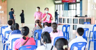 การรายงานตัว นักเรียนชั้น ม.1 ห้องเรียน IEP/ปกติ/หุ่นยนต์ และ ม.4 ห้องเรียนปกติ ปีการศึกษา 2564