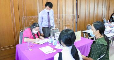 การรับมอบตัวนักเรียน ระดับชั้นมัธยมศึกษาปีที่ 4 ห้องเรียนปกติ ปีการศึกษา 2564