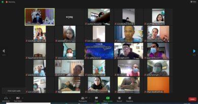 การประชุมผู้ปกครองนักเรียนแบบออนไลน์ ภาคเรียนที่ 1 ปีการศึกษา 2564 ระดับชั้น ม.2, ม.3, ม.5 และ ม.6